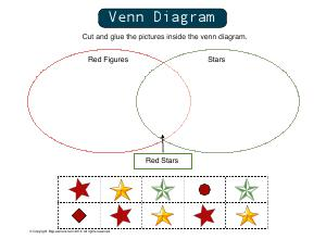 Preview image for worksheet with title Venn Diagrams