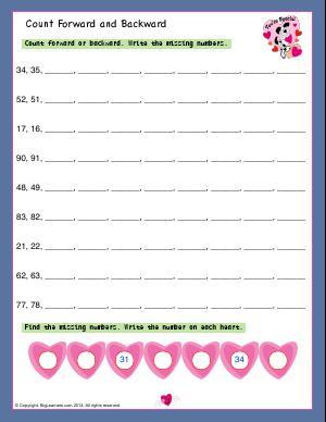 skip counting patterns first grade math worksheets biglearners. Black Bedroom Furniture Sets. Home Design Ideas