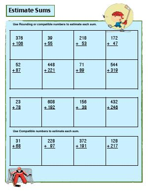 addition third grade math worksheets biglearners. Black Bedroom Furniture Sets. Home Design Ideas
