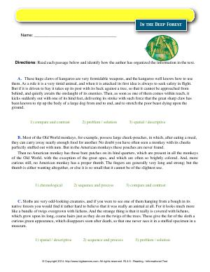 Fourth Grade : Free Common Core English Language Arts Worksheets