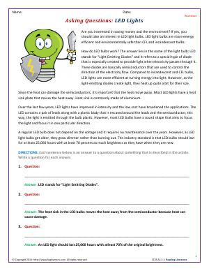 ... and Supporting Details | Third Grade English Worksheets | Biglearners