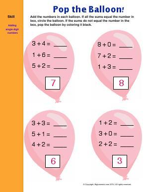 Pre School Worksheets : math worksheets addition zero Math ...