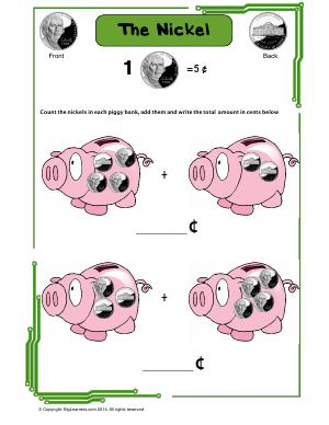 Preview image for worksheet with title The Nickel